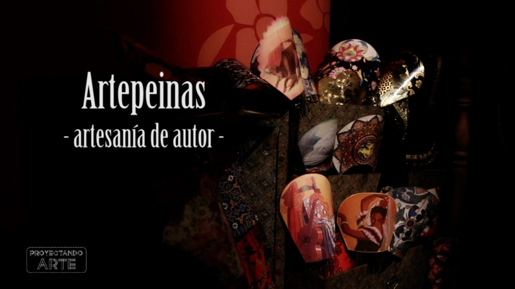 "Artepeinas en ""Carmen città"", fashion film flamenco."
