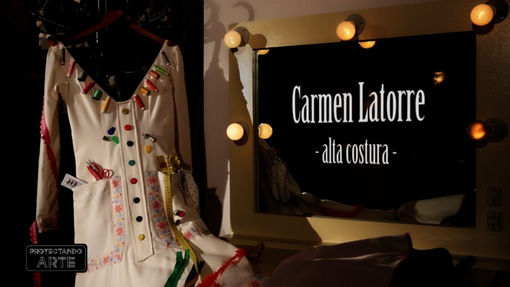 "Carmen Latorre en ""Carmen città"", fashion film flamenco."